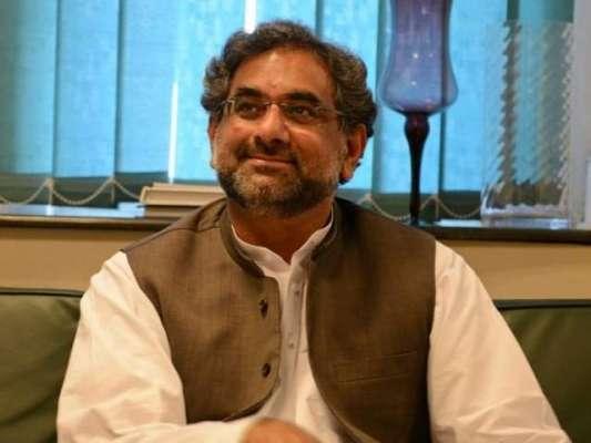 وزیر اعظم شاہد خاقان عباسی سے قومی اسمبلی میں قائد حزب اختلاف سید خورشید ..