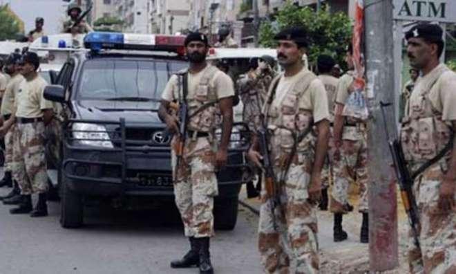 کراچی میں رینجرز نے دہشت گر دی کا بڑا منصوبہ ناکام بنا دیا ،کالعدم تنظیم ..
