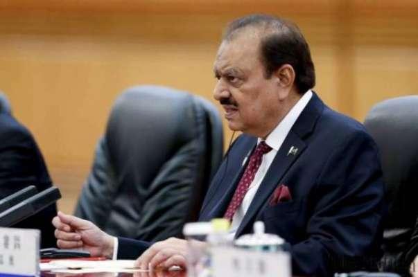 صدر مملکت ممنون حسین نے 25 ویں آئینی ترمیم پر دستخط کر دیئے،