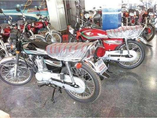 ڈالر کی قیمت میں اضافہ ، چینی موٹر سائیکل کی قیمتوں میں اضافہ کردیا ..