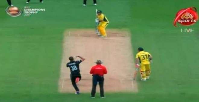 چیمئنز ٹرافی کا دوسرا میچ، بارش کے باعث آسٹریلیا کی اننگ 33 اوورز تک ..