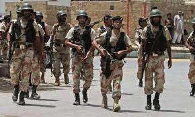 رینجرز کی مختلف علاقوں میں کارروائیاں، بھتہ خور سمیت 5 ملزمان گرفتار