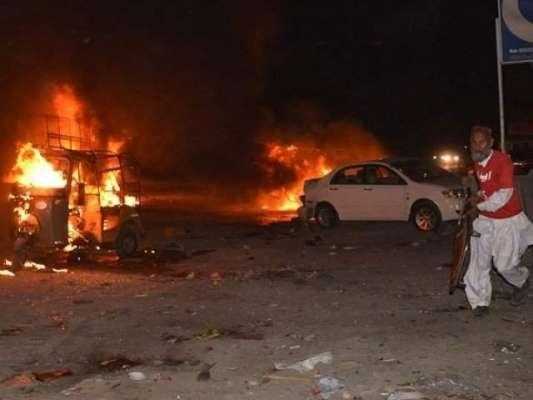 ڈیرہ مراد جمالی میں ڈی سی چوک میں دھماکہ ، متعدد افراد زخمی