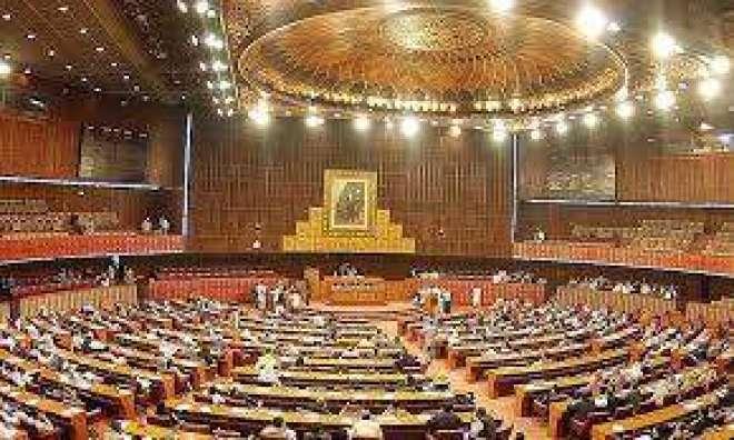 قومی اسمبلی ، تحریک انصاف کا نواز شریف کو پارلیمنٹ طلب کر کے بیان پر ..