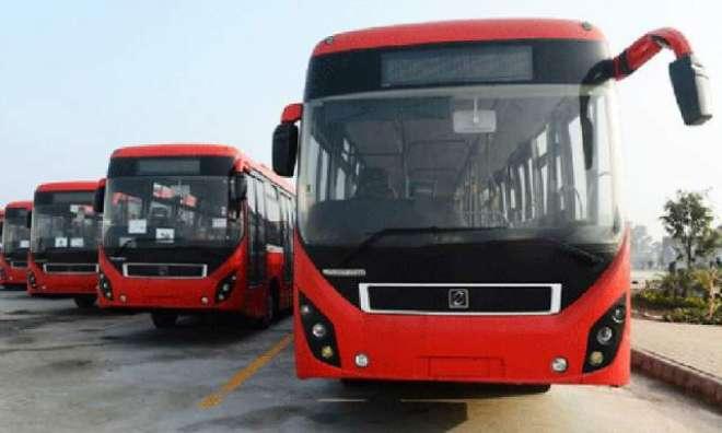 پشاور میں میٹرو بس منصوبہ کا سنگ بنیاد کل رکھا جائے گا۔