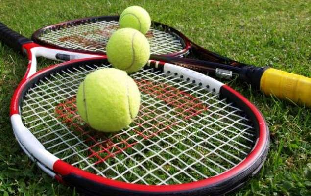 سیکنڈ ایس این جی پی ایل آل پاکستان ٹینس چیمپئن شپ 2018 کا مین رائونڈ (کل)سے ..