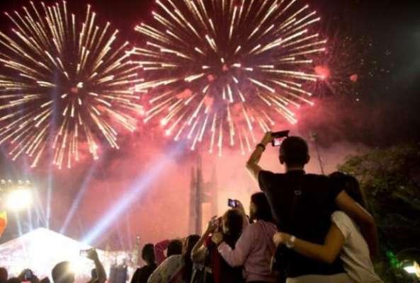 الوداع سال2017ء،دنیا نے سال 2018ء کوخوش آمدید کہہ دیا