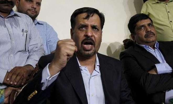 مصطفی کمال کا ڈی ایس پی حنیف اور اہلکار کی عزیز آباد میں دہشت گردی کے ..