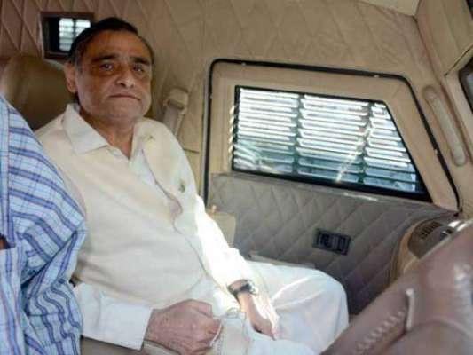نیب کراچی کی طرف سے سابق وزیر پٹرولیم ڈاکٹر عاصم کی ہمشیرہ کے گھر پر ..