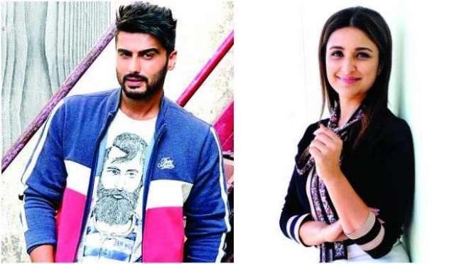 ارجن کپور اور پرینیتی چوپڑا نے فلم ''سندیپ اور پنکی فرار'' کے لئے ..