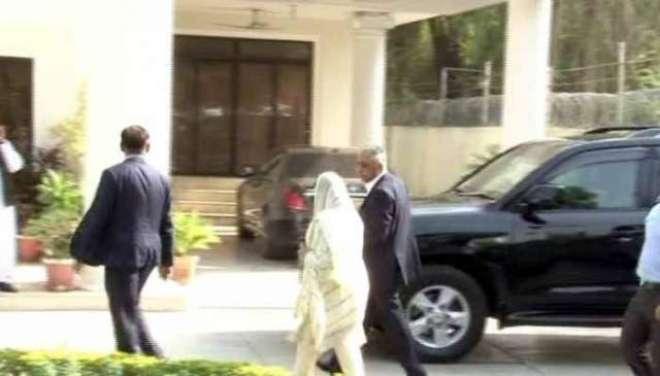سیکیورٹی گارڈ نے گورنر سندھ کو مریم نواز کے گھر داخل ہونے سے روک دیا