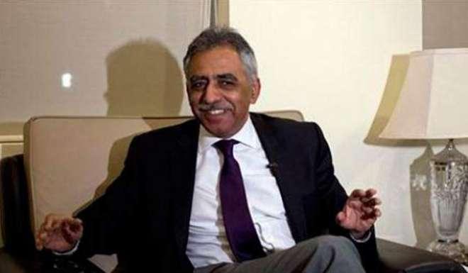 گورنر سندھ سے ا یئر وائس مارشل سلمان احسن بخاری کی ملاقات