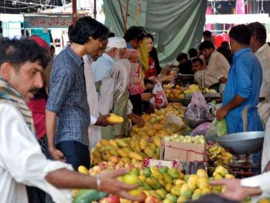 رمضان بازاروں میں امدادی نرخ پراشیائے خوردونوش کی خریداری میں ریکارڈ ..
