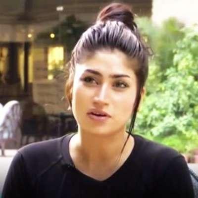 پاکستانی اداکارہ و ماڈل قندیل بلوچ کی زندگی پر لکھی کتاب مارکیٹ میں ..