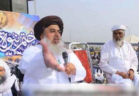 مولانا خادم حسین رضوی سیاسی پنڈتوں کے ہتھے چڑھ گئے