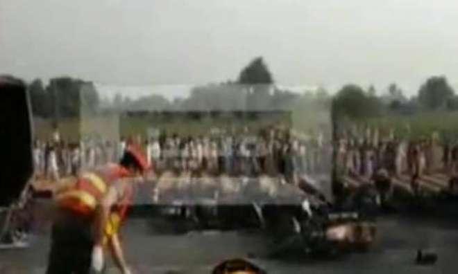 بہاولپور:آئل ٹینکر پھٹنے سے 123افراد جاں بحق، درجنوں زخمی