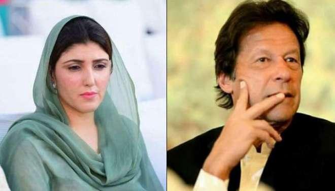 الیکشن کمیشن عائشہ گلہ لالئی کے خلاف عمران خان کی طرف سے نااہلی کے ریفرنس ..