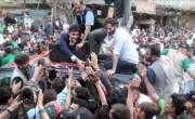 بلاول پر پتھراﺅ دہشت گردی قرار'حکومت سندھ کی مدعیت میں مقدمہ درج