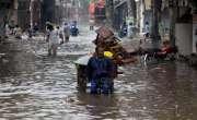 لاہورمیں موسلا دھار بارش، سب سے زیادہ بارش فرخ آباد میں 131 ملی میٹر ..