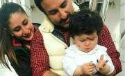 تیمور علی خان نے گائے والے کے سامنے ہاتھ جوڑ لئے، ویڈیو وائرل