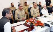 وزیراعظم شاہد خاقان عباسی کی زیرصدارت قومی سلامتی کمیٹی کااجلاس