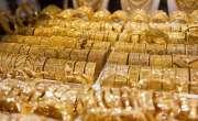 گولڈمارکیٹ میں سونے کی فی تولہ قیمت میں مزید1650 روپے کی کمی