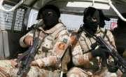 کراچی میں پولیس اور رینجرز نے کار سے بڑی تعداد میں اسلحہ برآمد کر لیا