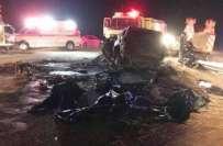 سعودی عرب میں خوفناک ٹریفک حادثہ ،بڑی تعداد میں جانی نقصان