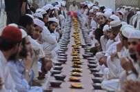 ماہ رمضان میں طویل ترین روزہ 21گھنٹے اور مختصر ترین روزہ 11گھنٹے 32منٹ ..