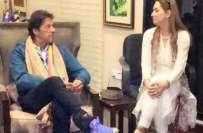 عمران خان سے شادی کی افواہوں کا نشانہ بننے والی عائشہ وارثی منظر عام ..