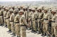 پاکستان آرمی میں بطور سپاہی بھرتی کے مواقع
