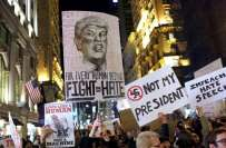 ٹرمپ کی صدارت کا ایک سال:پورے امریکا میں مظاہرے'حکومتی شیٹ ڈاﺅن جاری ..