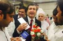 پشاور زلمی کے مالک جاوید آفریدی کے 2 رشتے دار سینیٹ الیکشن جیتنے میں ..