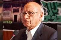 سابق وزیر قانون، مایہ ناز سینئر سیاستدان اور ن لیگی رہنما نے سیاست ..
