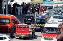 فرانس، جنوبی شہر کاکاسن میں دہشت گردی واقعے میں 3 افراد ہلاک ہوگئے ، ..