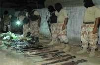 کراچی میں بدامنی کی کوشش ناکام،رینجرز نے دوران آپریشن بھاری مقدار ..