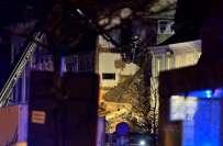 بیلجیئم کے ساحلی شہر اینٹ ورپ میں گیس دھماکے سے عمارت منہدم،