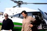 تحریک انصاف کا خیبر پختونخوا حکومت کا ہیلی کاپٹر استعمال کرنے پر عمران ..