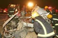موٹر وے پر خوفناک حادثہ، متعدد افراد جاں بحق