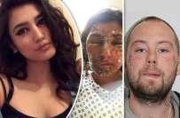 لندن میں پاکستانی ماڈل لڑکی پر تیزاب پھینکنے والے انگریز مجرم کو 16 ..