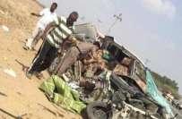 سعودی عرب ، جازان میں ٹریفک حادثے میں 6 بھائی جاں بحق ،