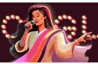 ازیہ حسن کی 53ویں سالگرہ:گوگل کا ڈودل کے ذریعے سالگرہ پر نازیہ حسن کو ..