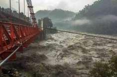 بزرگ شہری دریائے راوی کے سیلابی پانی میں بہتا ہوا پاکستان پہنچ گیا،بھارتی ..