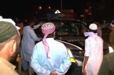 اسلام آباد، سیکٹر جی ٹین میں ایم ایم اے اور پولیس کے درمیان تصادم ، ..