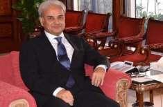 نگراں وزیر اعظم نے اپنا ووٹ کاسٹ کرلیا