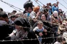 مہاجرین کے امریکی سرحد عبورکرنے پرپابندی،