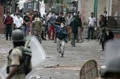 مقبوضہ کشمیر' بھارتی فوجیوں نے بربریت کی حد کردی' کولگام میں 8نوجوان ..