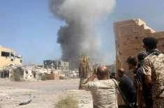 لیبیا کی فوج کی جانب سے لڑائی کے محاذوں پر بھاری کمک منتقل