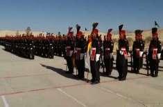 فرنٹئیر کور بلوچستان کی62ویں بیج کی پاسنگ آؤٹ پریڈ