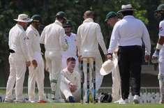 فلپ ہیوگز کے بعد ایک اور آسٹریلیوی کرکٹر کے سر پر گیند لگ گیا